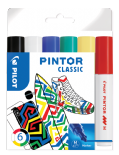 Classic Colours Pack of Medium Pilot Pintor Paint Markers